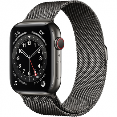Apple Watch Series 6 GPS + Cellular 44mm Stainless Steel Case